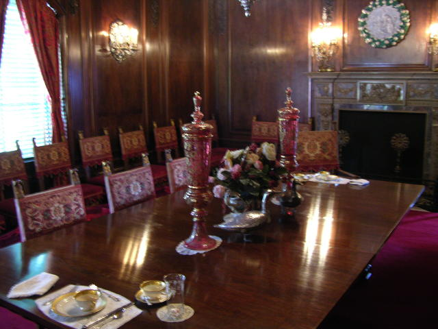 Large Dining Room In Ca D Zan Mansion